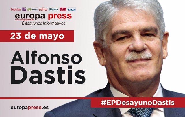 Alfonso Dastis participa en el Desayuno Informativo de Europa Press