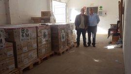 Farmacéuticos Sin Fronteras dona más de 70.000 euros en medicamentos a los refugiados sirios en Grecia