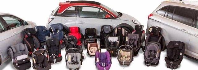 Sillas infantiles para coche
