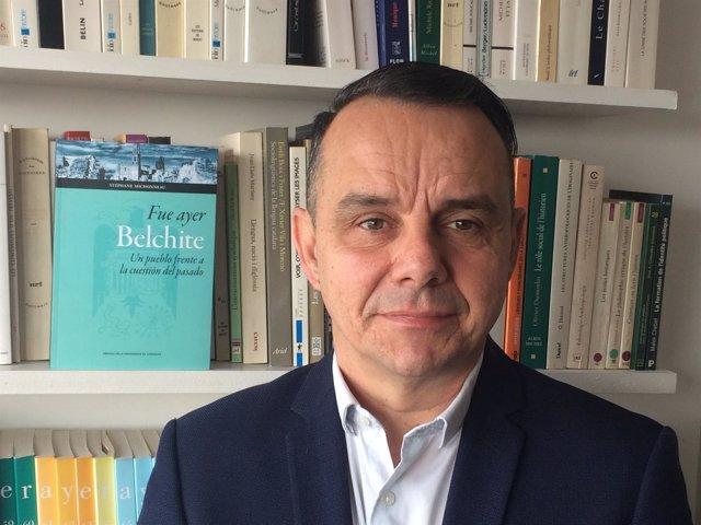 El catedrático de la Université de Lille (Francia), Stéphane Michonneau