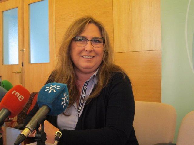 La delegada de Salud de la Junta, María Ángeles Luna