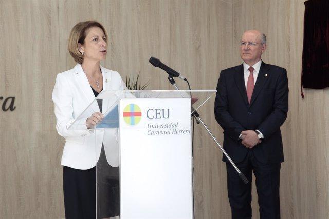 Inauguración de la Facultad de Ciencias de la Salud del CEU