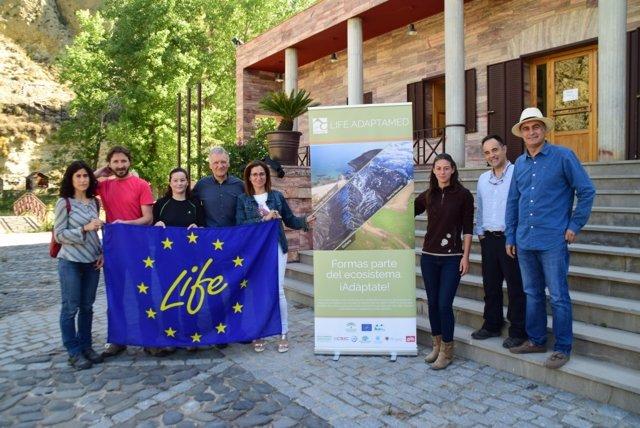 Nota Y Fotos/ El Proyecto Life Adaptamed Avanza Con El Objetivo De Atenuar Los E