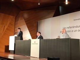 """Puigdemont: """"El Estado español no dispone de tanto poder para impedir"""" el referéndum de independencia"""