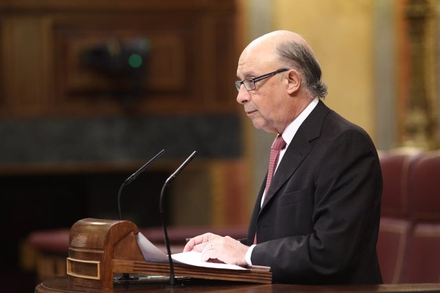 Cristóbal Montoro en el Congreso de los Diputados