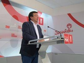 """Vara ofrece a Sánchez su """"ayuda"""" en tiempos de """"generosidad"""" para """"saber ganar"""" y """"humildad"""" para """"saber perder"""""""