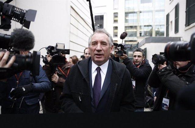 François Bayrou, ministro de Justicia de Francia