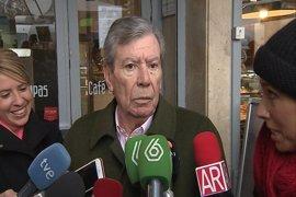 El ex ministro del Interior José Luis Corcuera se da de baja en el PSOE