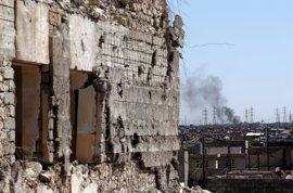 Irak anuncia la toma de otro barrio ubicado en la zona oeste de Mosul tras combates con Estado Islámico