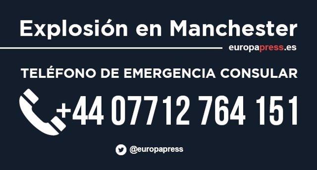 Teléfono de emergencia consular