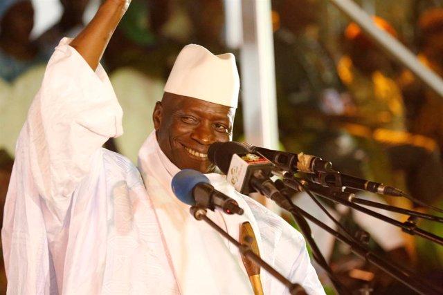 Yahya Jamé, presidente de Gambia
