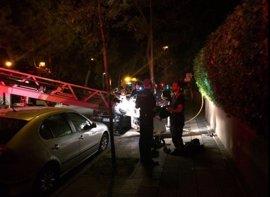 Intoxicadas graves por inhalación de humo dos mujeres rescatadas de un incendio en la avenida de San Luis