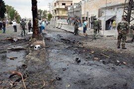 Al menos cuatro muertos y 30 heridos en un atentado suicida con coche bomba en Homs