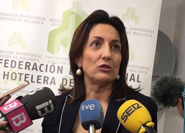 La presidenta ejecutiva de la FEHM, Inmaculada de Benito