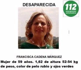 La Guardia Civil descarta de momento la intervención de la UCO en la desaparición de Francisca Cadenas
