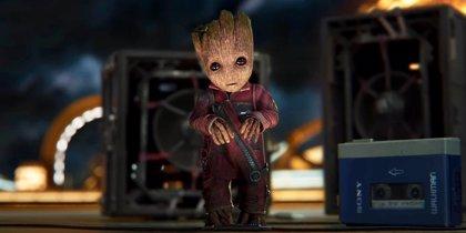 Guardianes de la Galaxia 2: Nuevas imágenes de Groot adolescente y Baby Groot
