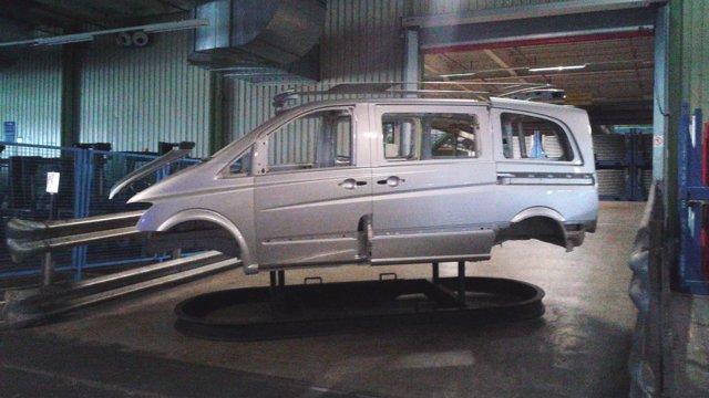Fábrica de Mercedes en Vitoria