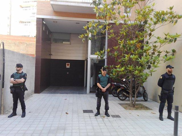 Casa del expresiente del FC Barcelona Sandro Rosell en Barcelona