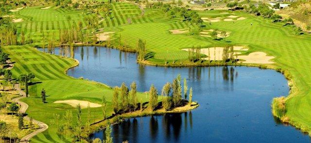 Golf Santander, en la Ciudad Financiera de Banco Santander