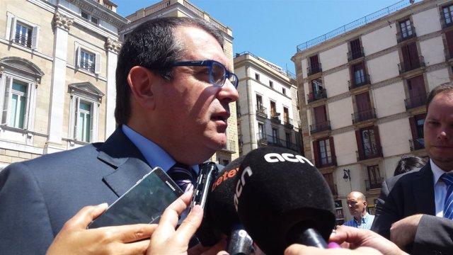 El conseller de Interior de la Generalitat, Jordi Jané