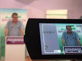 "Podemos: Susana Díaz seguirá ejerciendo ""parcialmente"" de presidenta por tareas ""ajenas"" a Andalucía"