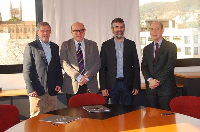 Jaume Sellarés, Xavier Gil, Albert Casasa, Albert Balaguer