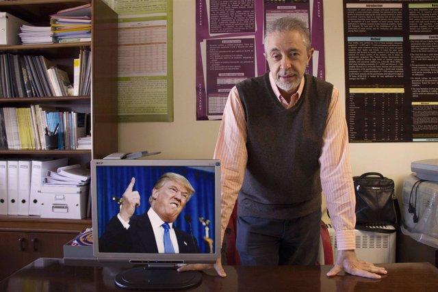 El profesor Caballo, autor del estudio sobre la personalidad de Trump