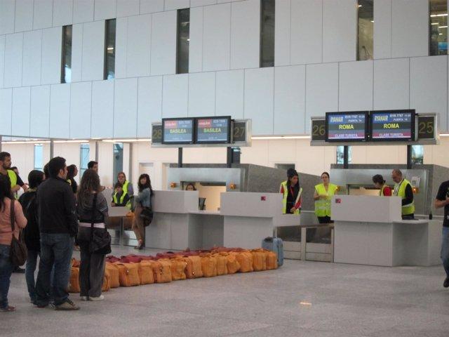 Facturación En La Nueva Terminal De Lavacolla