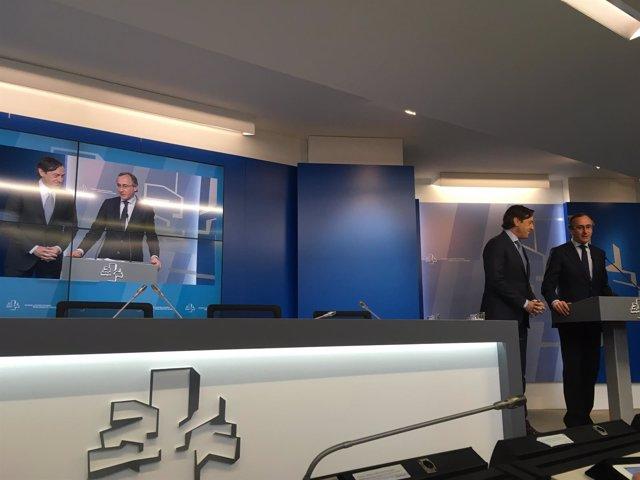 Refael Hernando y Alfonso Alonso