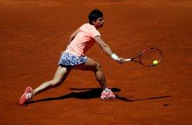Carla Suárez se mete en cuartos del torneo de Estrasburgo