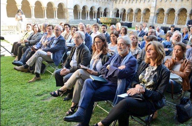 Antoni Ros-Marbà, Mercè Conesa, Jordi Savall y Carmela Fortuny