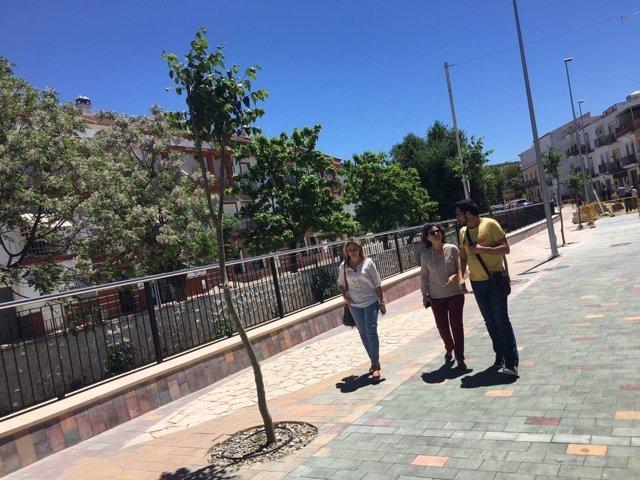 Maribel Peinado en Alcalá del Valle