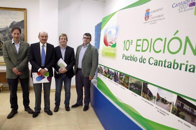 Presentación del X Premio Pueblo de Cantabria