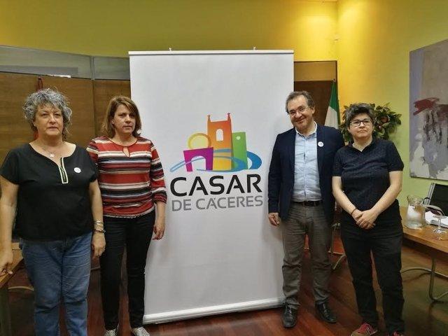 Presentación de la nueva marca de Casar de Cáceres