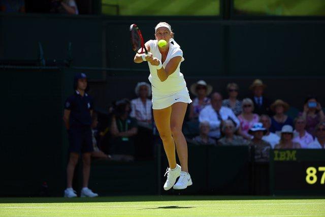 Petra Kvitova, Wimbledon 2015