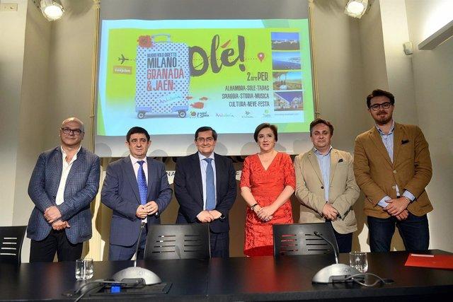 Presentación de estrategia en destinos del aeropuerto de Granada y Jaén