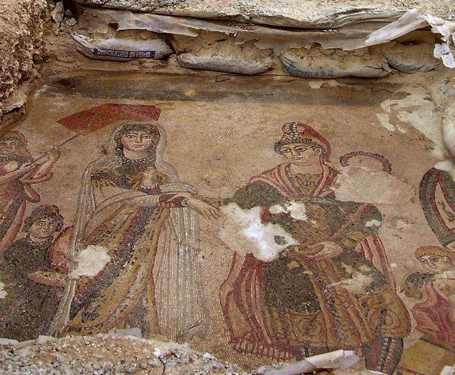 Mosaico Yacimiento Noheda (Cuenca)