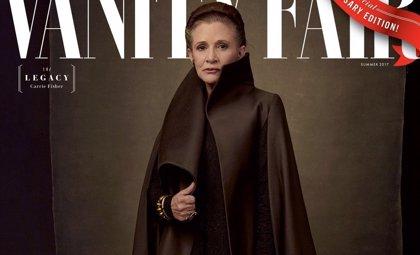 Carrie Fisher y el resto de protagonistas de Star Wars: Los últimos Jedi celebran el 40º aniversario de la saga