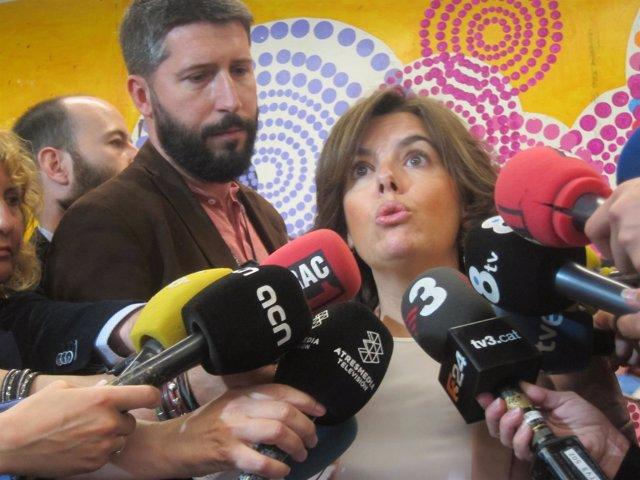 La vicepta.Del Gobierno S.Sáenz de Santamaría