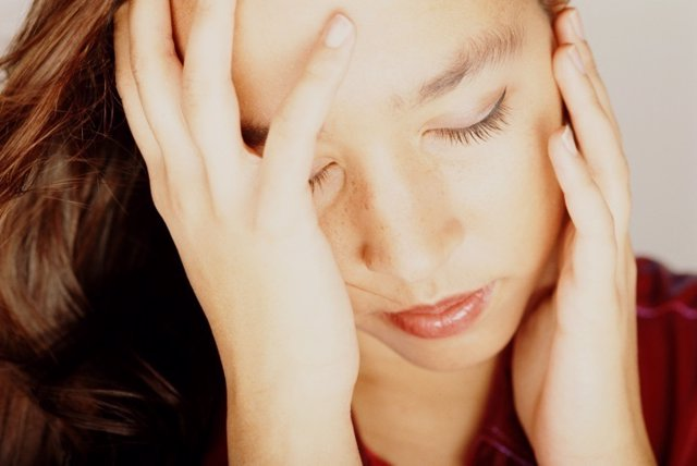 Mujer, dolor, depresión