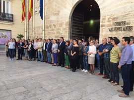 """Instituciones valencianas condenan la """"barbarie"""" de Manchester y recuerdan que """"la vida humana es un valor absoluto"""""""