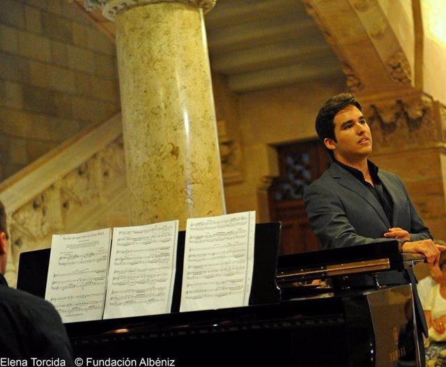 César Arrieta, tenor del concierto en el Auditorio de San Blas.