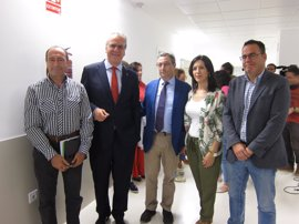 """Esther Gutiérrez anuncia el inicio """"inminente"""" de la licitación del proyecto de la nueva Facultad de Medicina de Badajoz"""