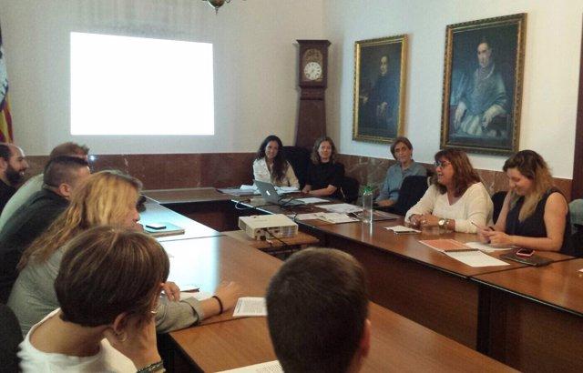 Reunión IDI en Algaida