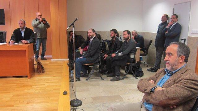 Salvador Blanco y Julio Revuelta se ven las caras en el juzgado