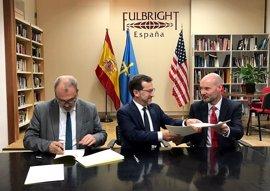 Educación firma un convenio con la Comisión Fulbright para incorporar a once auxiliares de conversación de inglés