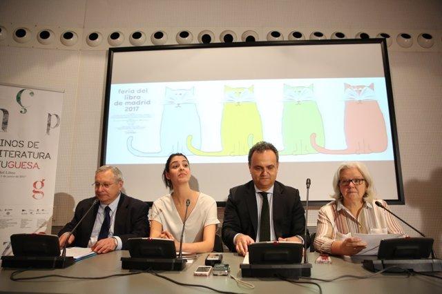 Presentación de la 76ª edición de la Feria del Libro de Madrid