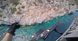 La Guardia Civil rescata a una joven excursionista lesionada en Sa Cova Tancada