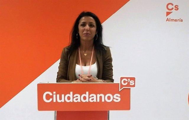 La parlamentaria andaluza de Ciudadanos (Cs) por Almería, Marta Bosquet
