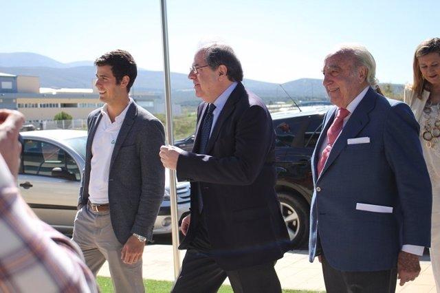Herrera, con Emiliano Revilla.